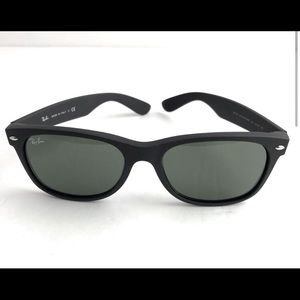 Ray-Ban New Wayfarer RB2132 Matte Black Sunglasses